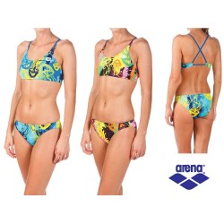 Two piece Swimsuit Woman Underwater Arena