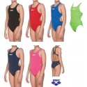 Costume Intero Bambina Swim Tech Solid Arena