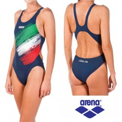 8610cd0d749c Costume intero donna Italia FIN Arena
