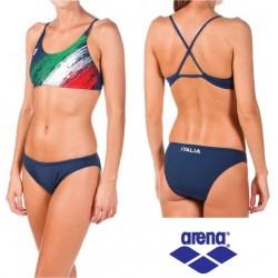 Costume due pezzi donna Italia FIN Arena