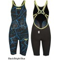 Black/Bright Blue - Carbon Air Full Body Short Leg ARENA - edizione limitata 2018