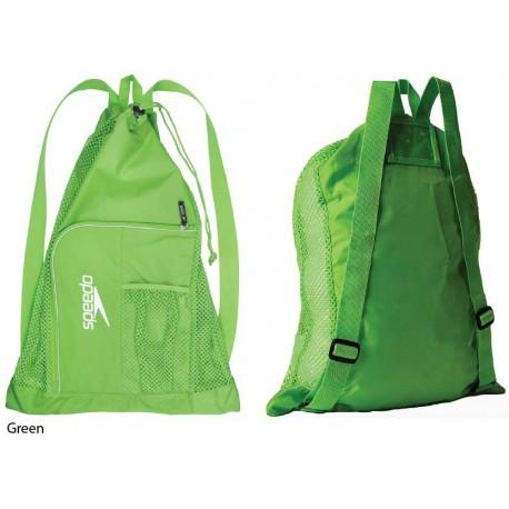 Green - Deluxe Ventilator Mesh Bag Speedo
