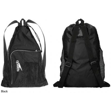 Black - Deluxe Ventilator Mesh Bag Speedo
