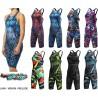 TYR Avictor Prelude, Venom, Lava Open Back Swimsuit