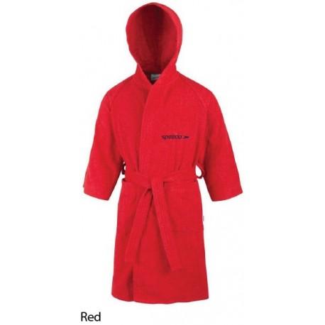 Red - Accappatoio Microspugna Junior Speedo