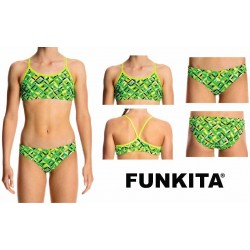 Funkita Racerback Two Piece Radioactive