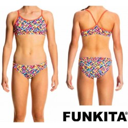 Funkita Flash Bomb Racerback Two Piece