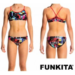 Funkita Test Signal Racerback Two Piece