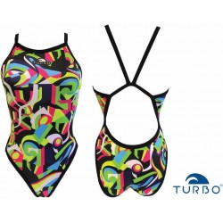 Costume donna Abstract Turbo