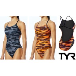 TYR Woman's Crypsis Cutoutfit Swimsuit