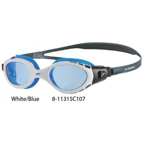 White/Blue - Futura Biofuse Flexiseal Goggles Speedo