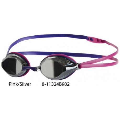 Pink/Silver - Speedo Vengeance Mirror Goggle