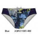 Blue - Men's swimwear briefs Teknocamou Jaked