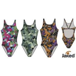 Jaked Womens Swimwear Teknocamou Jaked