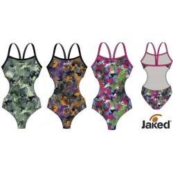 Jaked Womens Swimwear Teknocamou Extreme Jaked