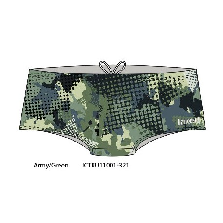Army/Green - Costume uomo Teknocamou Trunk Jaked