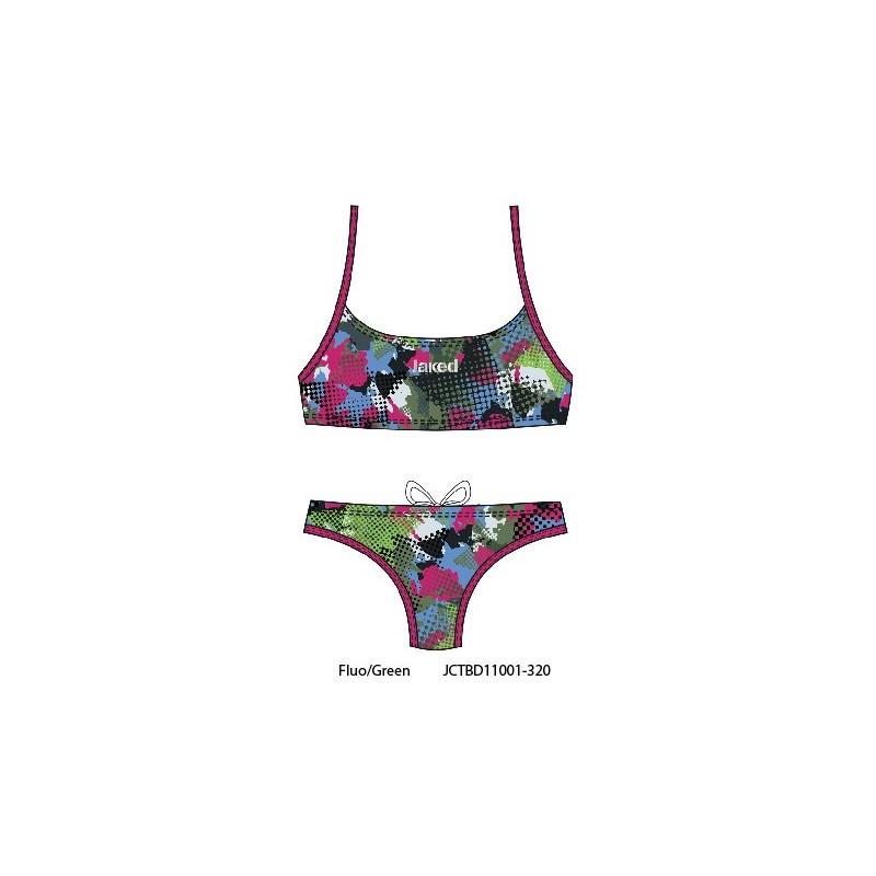 bf3fc9a27f8e Teknocamou bikini JAKED - costume da bagno donna