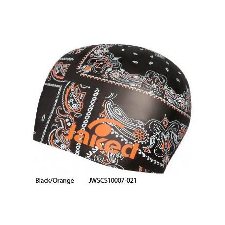 Black/Orange - Cuffia Bandanas Jaked