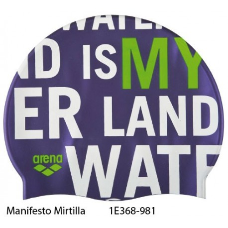 Manifesto Mirtilla - Print 2 Cap Arena