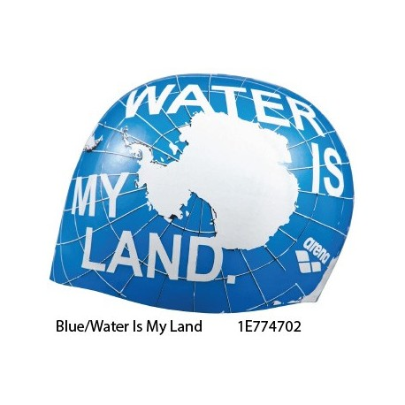Blue/Water Is My Land - Poolish Moulded Cap ARENA