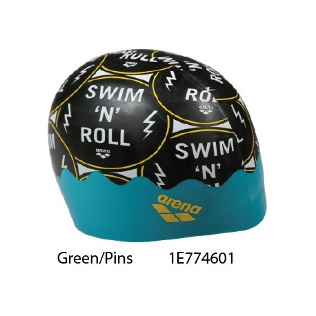 Green/Pins - Poolish Moulded Cap ARENA