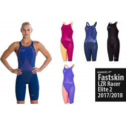 Fastskin LZR Elite 2 Kneeskin 2018 Speedo Aperto, Chiuso dietro