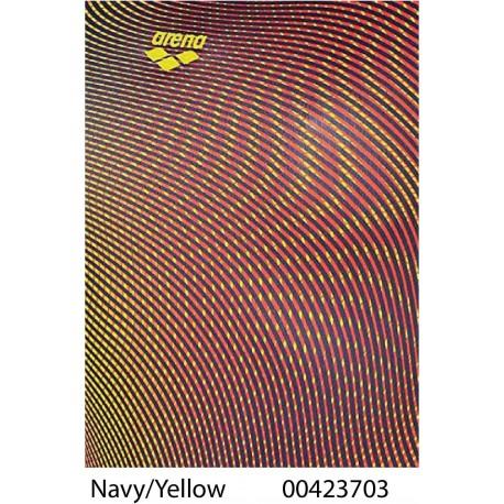 Navy/Yellow - Costume due pezzi Donna Phantom Arena
