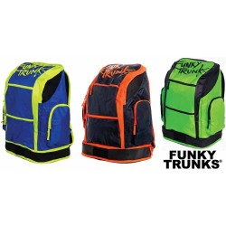 Electric Lime - Funky Trunks Backpacks 40 L