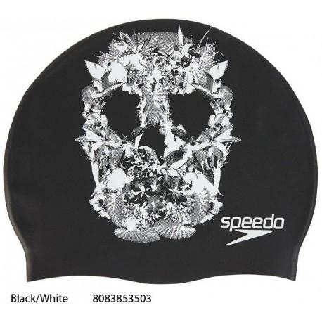 Black/White - Slogan Print Cap Speedo - 2018