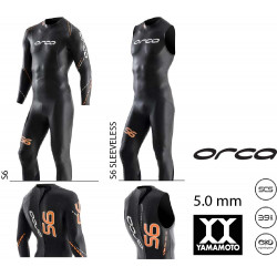 Orca S6 sleeveless mens wetsuit