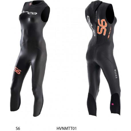 Muta smanicata donna S6 Orca - nuoto in acque libere triathlon