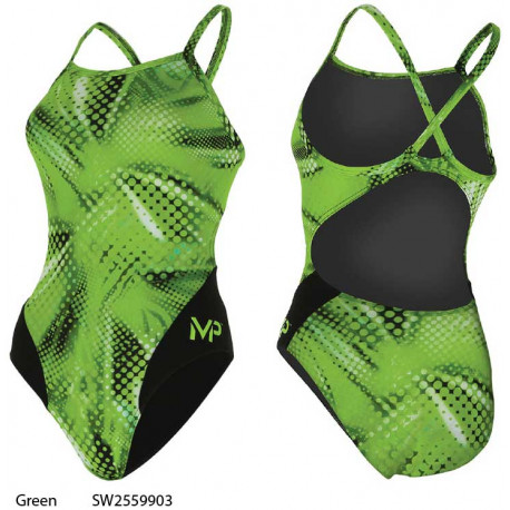 Green - Mesa Mid Back MP Michael Phelps