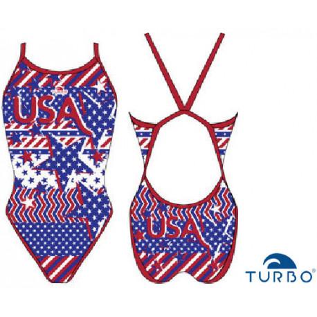 Swimsuit woman USA Grecas Turbo