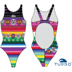Swimsuit woman Poncho Turbo