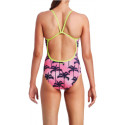 Back - Funkita Pop Palms Ladies One Piece
