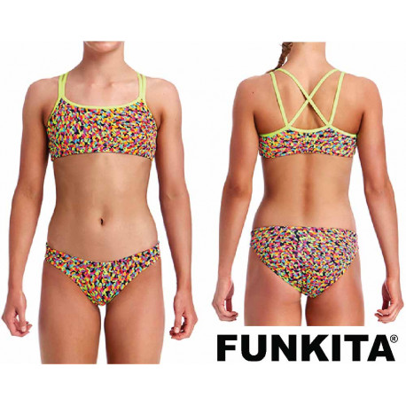 Funkita Fireworks Criss Cross Two Piece