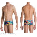 Navy/Red - Flipturns Allover Trunks 14cm Speedo