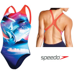 Costume donna Solar Surface Placement Digital Powerback Speedo