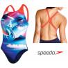 Costume donna Solar Surface Placement Digital Powerback Speedo