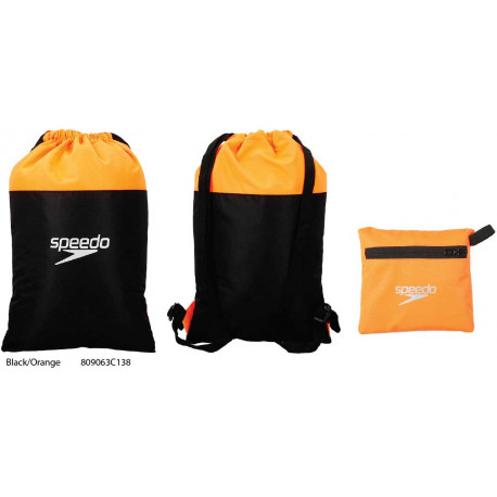Black/Orange - Pool Bag Speedo
