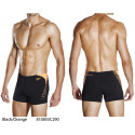 Black/Orange - Men's Boom Splice Aquashort SPEEDO