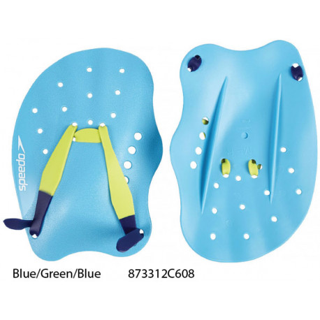 Blue/Green/Blue - Tech Paddle Speedo