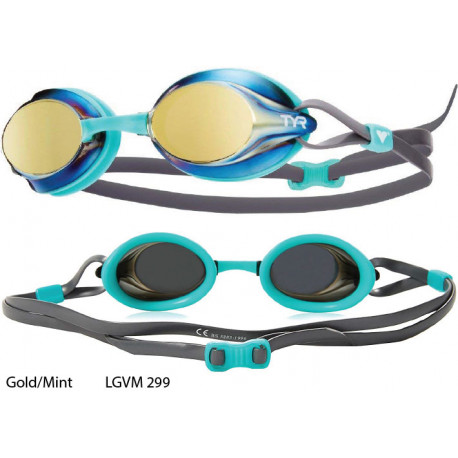 Gold/Mint - Velocity Mirror TYR