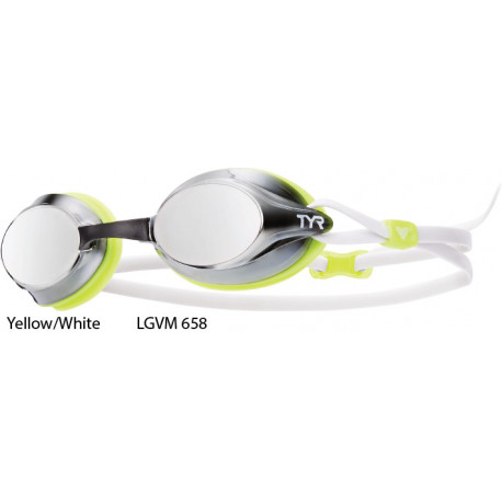 Yellow/White - Velocity Mirror TYR