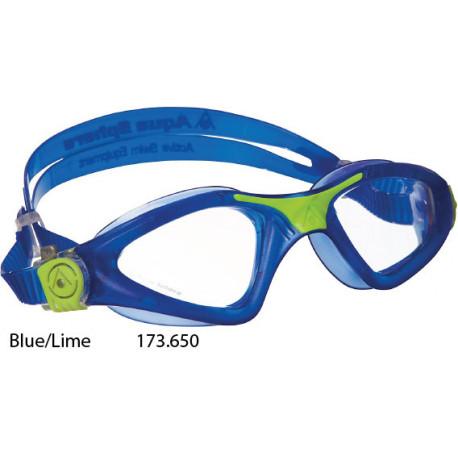 Blue/Lime, Clear lens - Kayenne Aqua Sphere