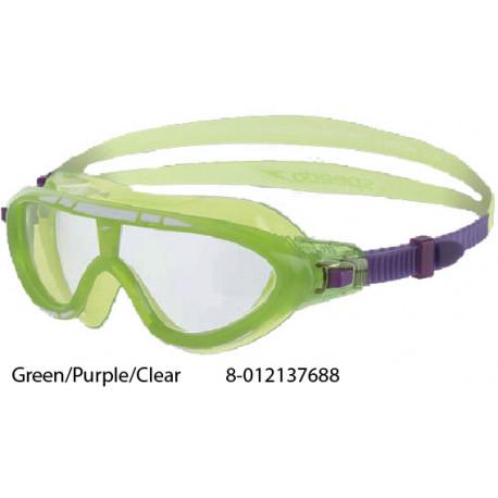 Green/Purple/Clear - Rift Junior Speedo - maschera nuoto
