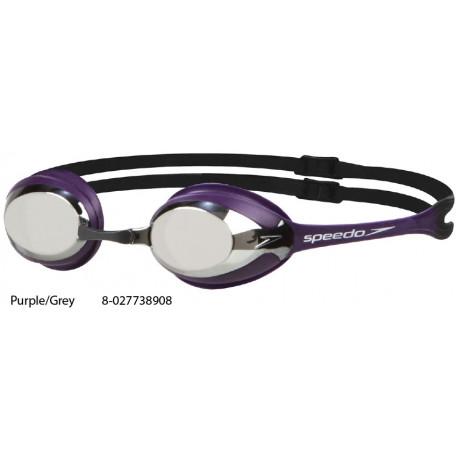Purple/Grey - Occhialini Merit Mirror Speedo