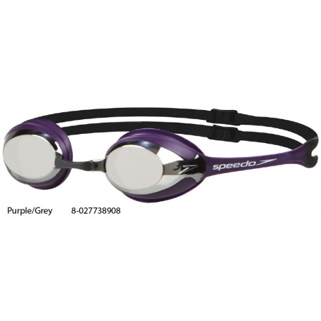 Purple/Grey - Merit Mirror Goggle Speedo