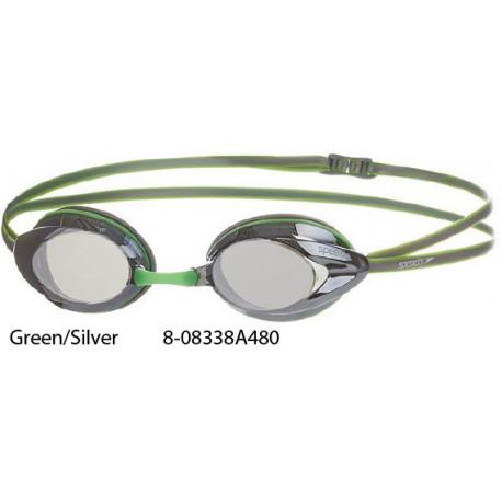 Green/Silver - Opal Plus Mirror Speedo