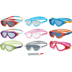 Green/Purple/Clear - Rift Junior Speedo - maschera nuoto